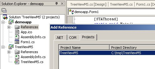 Multiple selection in a treeview control, using C#